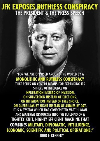 JFK on the conspiracy